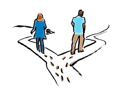 طلاق آخرين راه است، نه اولين راه